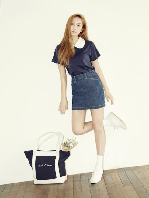 Phong cách của Blanc & Eclare là hiện đại, tươi trẻ và cổ điển; phản ánh phong cách tinh tế của Jessica Jung.