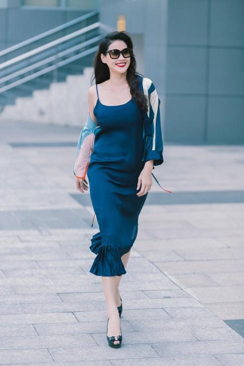 Với Lam, Hà cảm thấy thoải mái và tự tin xuống phố