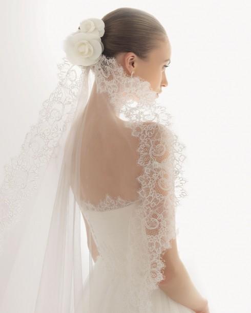 Rosa clara bridal gowns jonico veil