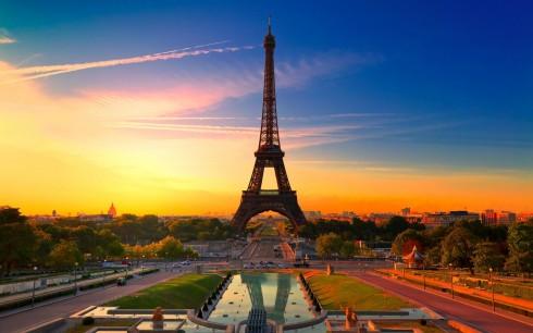 Thành phố Paris - Thành phố của tình yêu