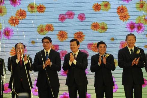 Các khách mời quan trọng tham gia sự kiện khai trương trung tâm thương mại VivoCity Việt Nam