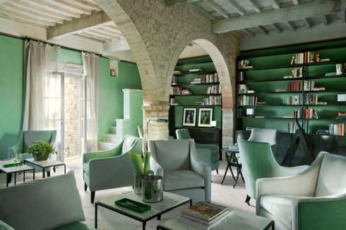 1 phần không gian nội thất của khách sạn Monteverdi.