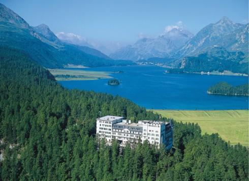 du lịch mùa thu - khách sạn Waldhaus, Thụy Sĩ