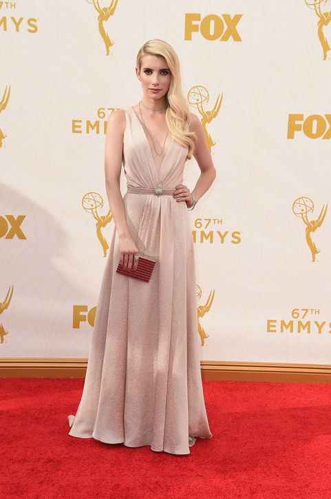 emmys-red-carpet-best-dressed-emma-roberts