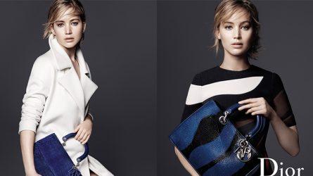 Jennifer Lawrence khoe vẻ đẹp bí ẩn trong quảng cáo túi Dior