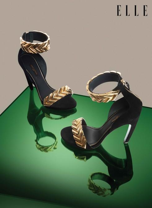 Giày sandals cao gót Louis Vuitton