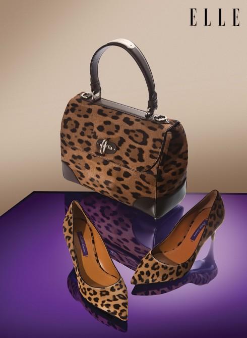 Túi xách và giày cao gót Ralph Lauren