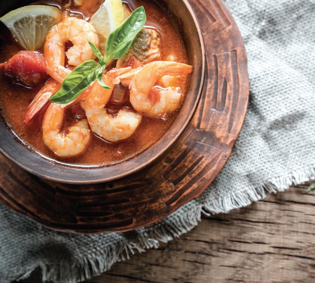 Món ăn từ hải sảntươi ngon là điều không ai có thể chối từ.