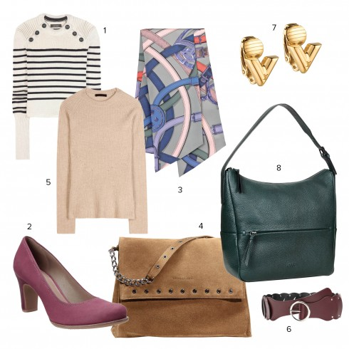 1.Isabel Marant 2.Ecco 3.Hermès 4.Longchamp 5.The Row 6.Gucci 7.Louis Vuitton 8.Ecco