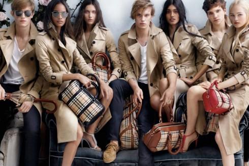 10 thương hiệu thời trang xa hoa nhất trên thế giới - Burberry - elle vietnam