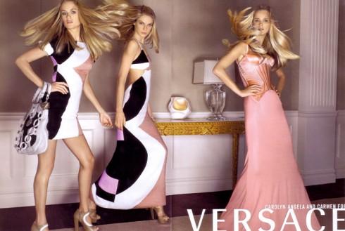 10 thương hiệu thời trang xa hoa nhất trên thế giới - Versace - elle vietnam