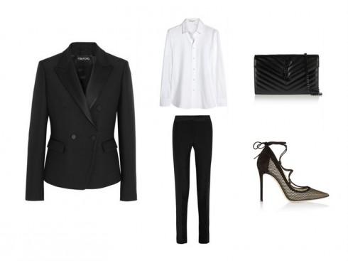 5 phong cách thời trang suit dành cho phái đẹp - tuxedo - elle vietnam
