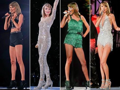 Bộ ảnh tuyệt đẹp về đôi chân triệu đô của ca sĩ Taylor Swift - heading image - elle vietnam