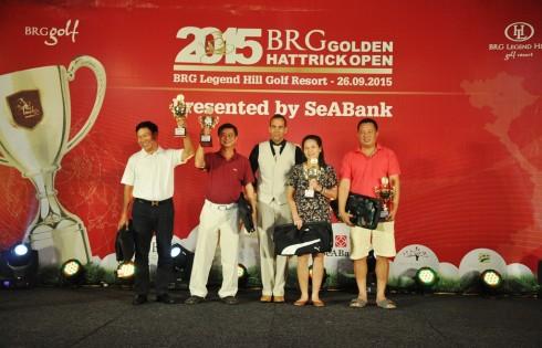 Giải đấu này nằm trong khuôn khổ chương trình Hội viên BRG Golden Hattrick của BRG Golf