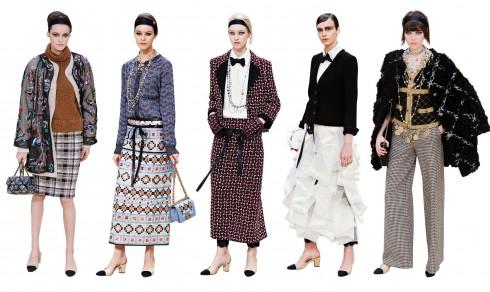 Các thiết kế BST Chanel cũng phảng phất cách phục trang của những cô phục vụ bàn xinh đẹp