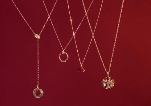 Từ trái qua: Cartier, Cartier, Bulgari, Bulgari