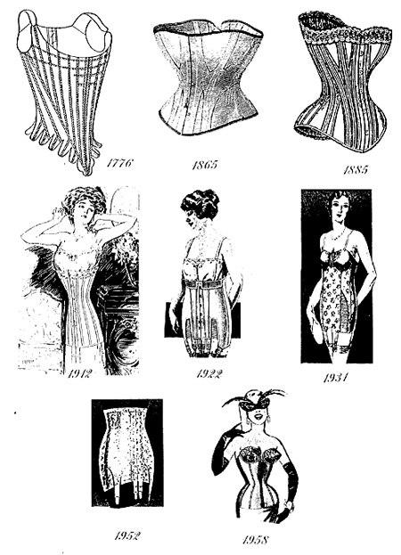 Áo corset có bề dày lịch sử khá đáng nể