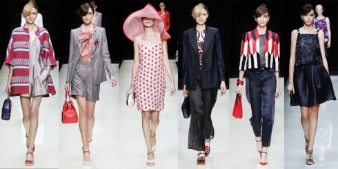 Armani là một trong số ít các nhà thiết kế biết cách truyền tải chuẩn xác ý tưởng qua từng mẫu quần áo và chi tiết trang phục.