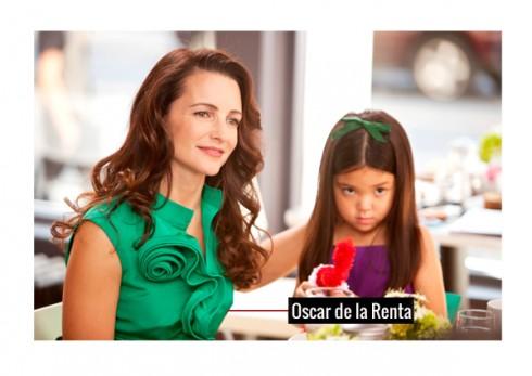 Đây là chiếc đầm màu xanh cá sấu nằm trong BST Xuân- Hè Nancy Gonzalez 2010 của thương hiệu danh tiếng Oscar de la Renta