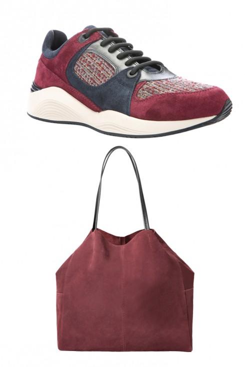 Giày Geox và Túi Mango
