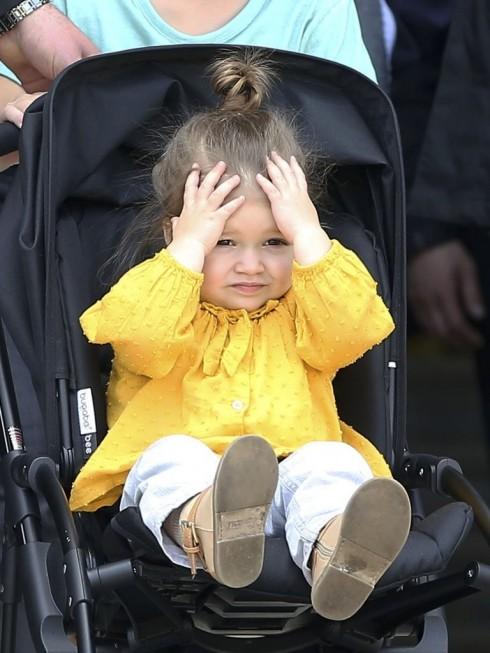 Tháng 4/2013, Harper cũng nhức đầu với mấy bác paparazzi.