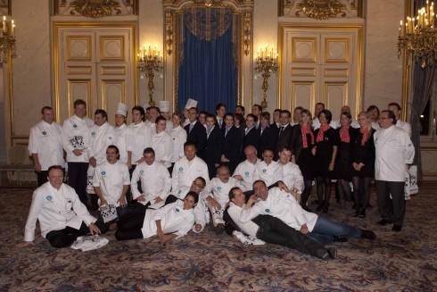 cuộc hội ngộ lần 3 của các đầu bếp Hiệp hội Village de chefs, được tổ chức 2 năm một lần