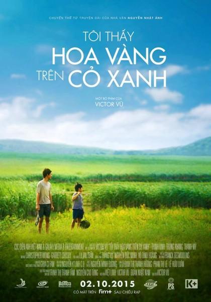 Poster phim Tôi thấy hoa vàng trên cỏ xanh