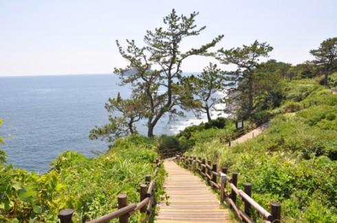 Không khí trong lành ở đảo Jeju.