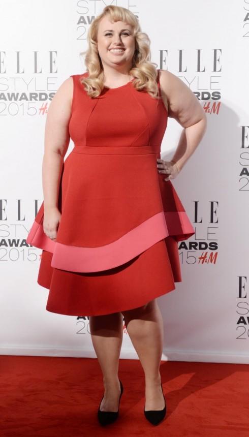 Ngôi sao Rebel Wilson nhận giải Elle Style Awards do tạp chí ELLE UK bình chọn