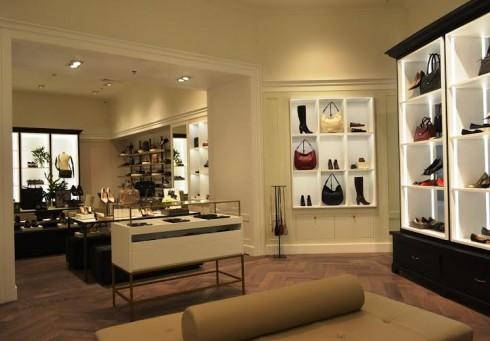 Showroom Cole Haan được thiết kế với phong cách sang trọng đẳng cấp