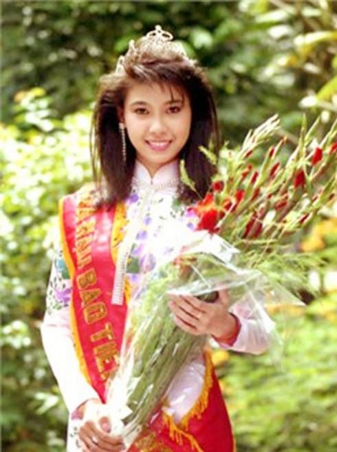 Hà Kiều Anh năm 1992