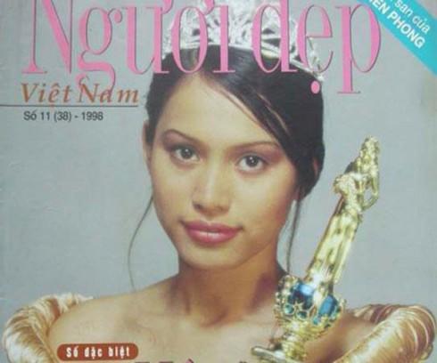 Hoa Hậu Nguyễn Thị Ngọc Khánh đăng quang năm 1998