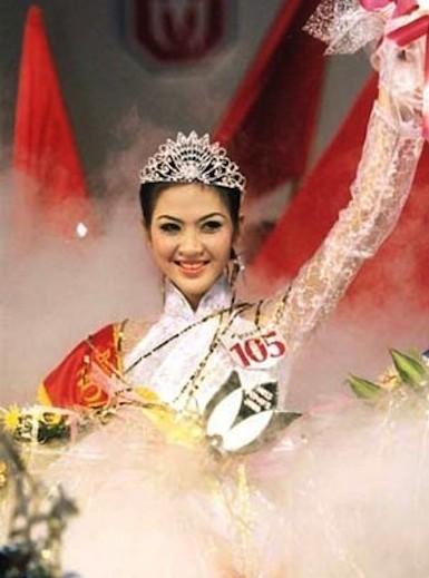Hoa Hậu Phan Thu Ngân đăng quang năm 2000
