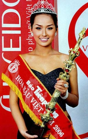 Hoa Hậu Mai Phương Thúy đăng quang năm 2006