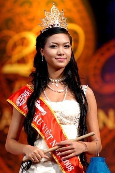 Hoa Hậu Trần Thị Thuỳ Dung đăng quang năm 2008