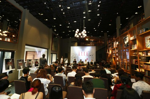 Không khí buổi họp báo ELLE Fashion Journey 2015