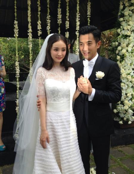đám cưới sao hoa ngữ