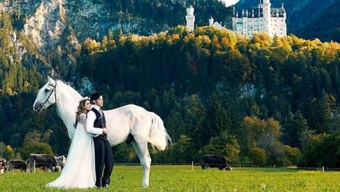 Ảnh cưới đẹp như mơ của Châu Kiệt Luân - Côn Lăng