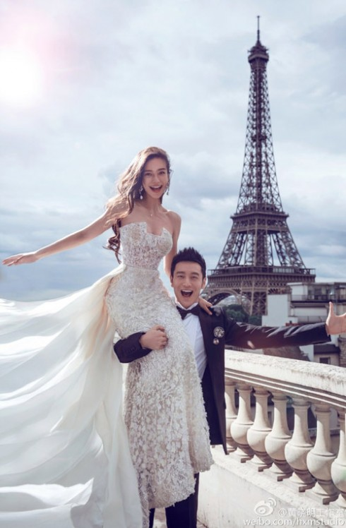 Đám cưới của cặp đôi nóng nhất hiện nay - Huỳnh Hiểu Minh và Angela Baby