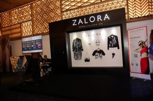 Quầy trưng bày của Zalora tại Exhibition