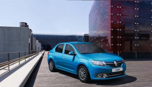 Renault Logan với kiểu dáng thanh lịch, bắt mắt.