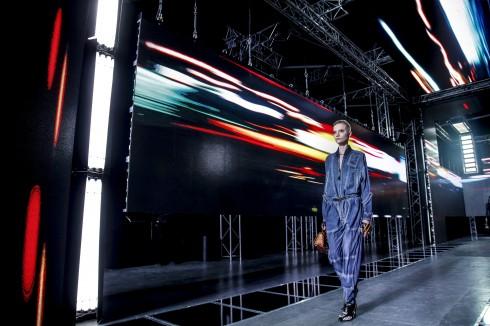 Sàn diễn của Louis Vuitton là một trong các điểm nổi bật của tuần lễ thời trang Paris.