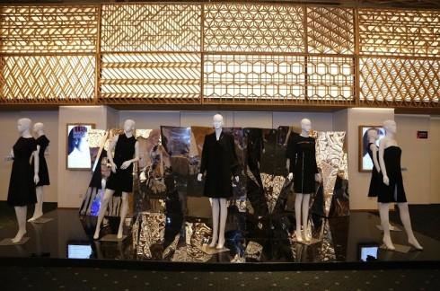 Khu vực triễn lãm thời trang