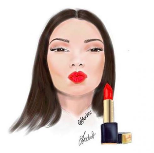 Cô nàng Kendall Jenner trong chiến dịch quảng cáo cho Estee Lauder
