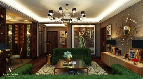 Phối cảnh căn hộ Tháp Orchid Thiết kế bởi Thái Công (1)