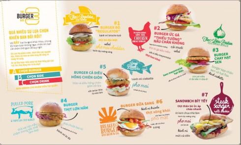 Mô hình ẩm thực hoàn toàn mới - The Burger Box.