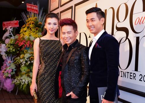NTK Chung Thanh Phong cùng các vị khách mời trong đêm diễn