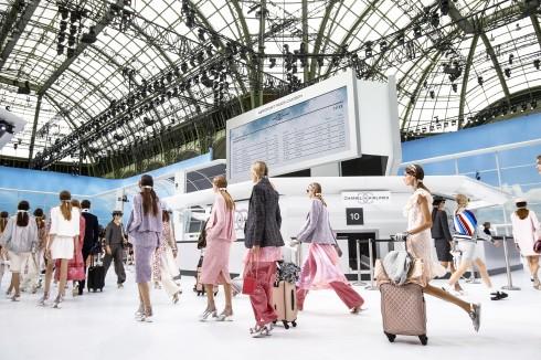Chanel luôn luôn là điểm sáng của tuần lễ thời trang Paris.