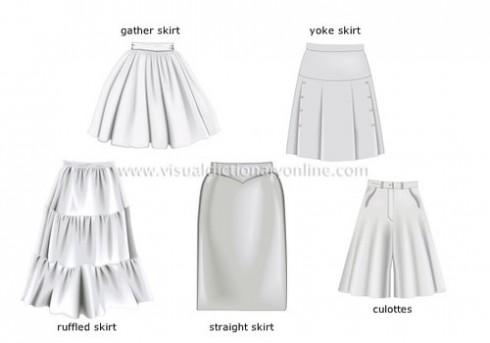 Các kiểu váy ngắn cách tân