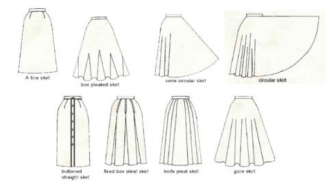 các dáng váy khác